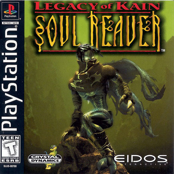 Legacy Of Kain - Soul Reaver (bin) Front Cover